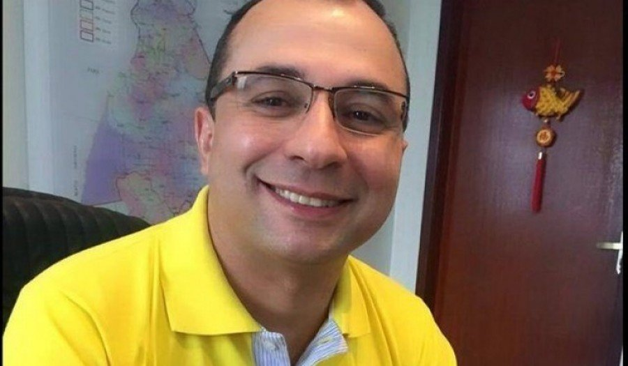 Jornalista Mateus Júnior (Foto: T1 Notícias)