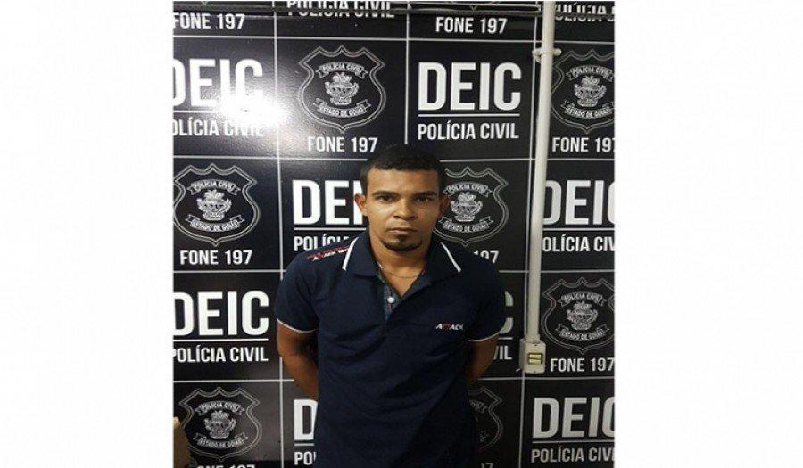 Arthur Sousa estava foragido da justiça de Parauapebas-PA há um ano, acusado de tentativa de homicídio, ocorrida no dia 04 de julho de 2016