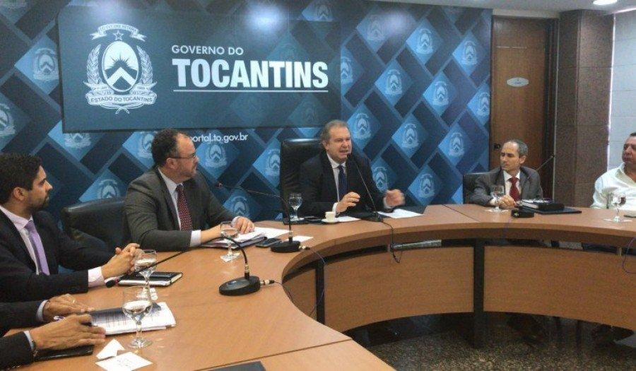 Levantamento foi repassado na tarde desta segunda-feira, 7, pelo secretário da Fazenda, na Sala de Reuniões do Palácio Araguaia