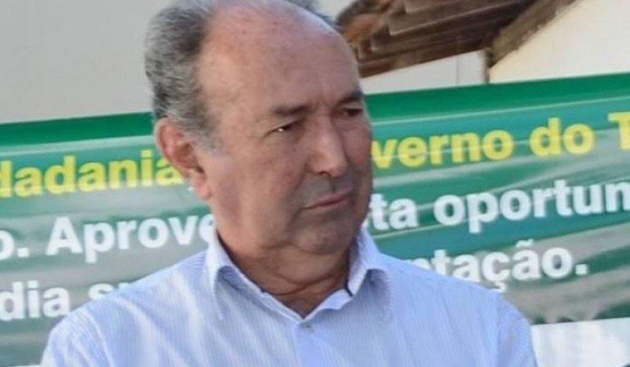 Sebastião Tático Borges, ex-prefeito de Aragominas
