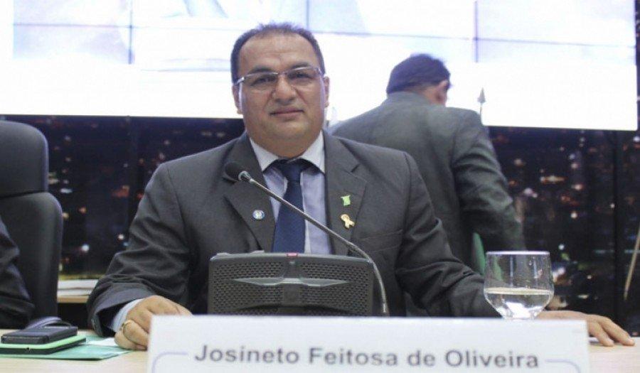 Ex-vereador de Parauapebas-PA, Josineto Feitosa ( Foto: Zé Dudu)