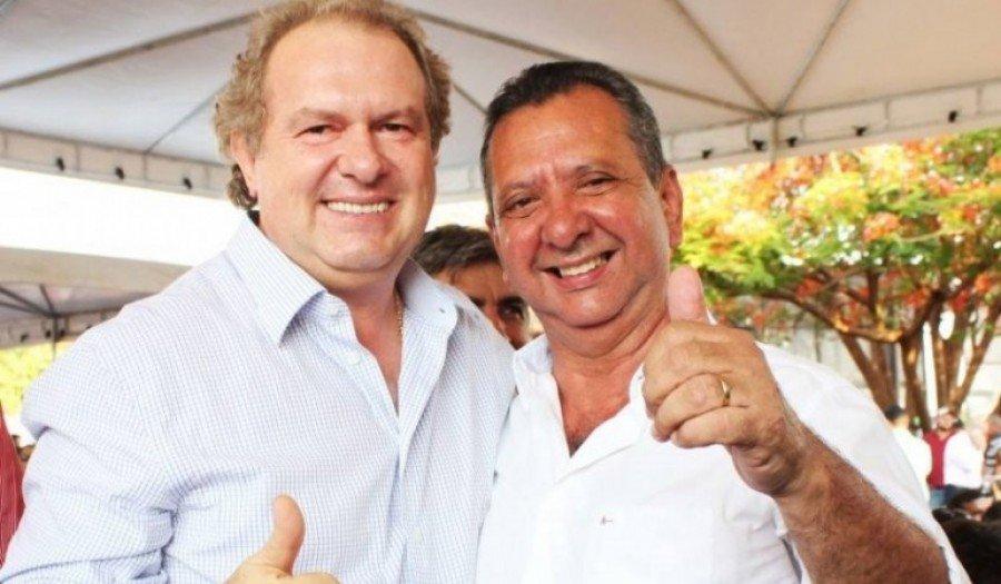 Governador Mauro Carlesse e o deputado estadual Toinho Andrade