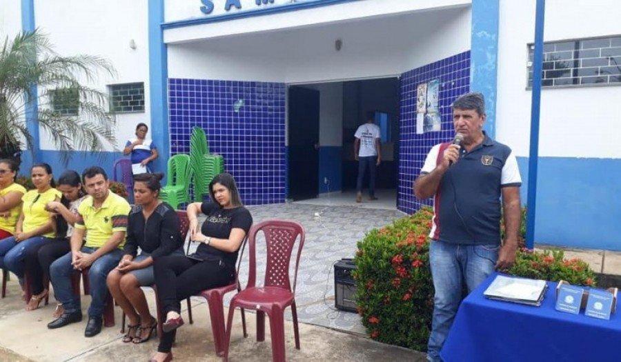 MPE-TO investiga se o prefeito de Sampaio, Armindo Cayres, estaria cometendo ato de improbidade administrativa por alugar imóvel próprio para abrigar posto de saúde (Foto: Reprodução/ Facebook)