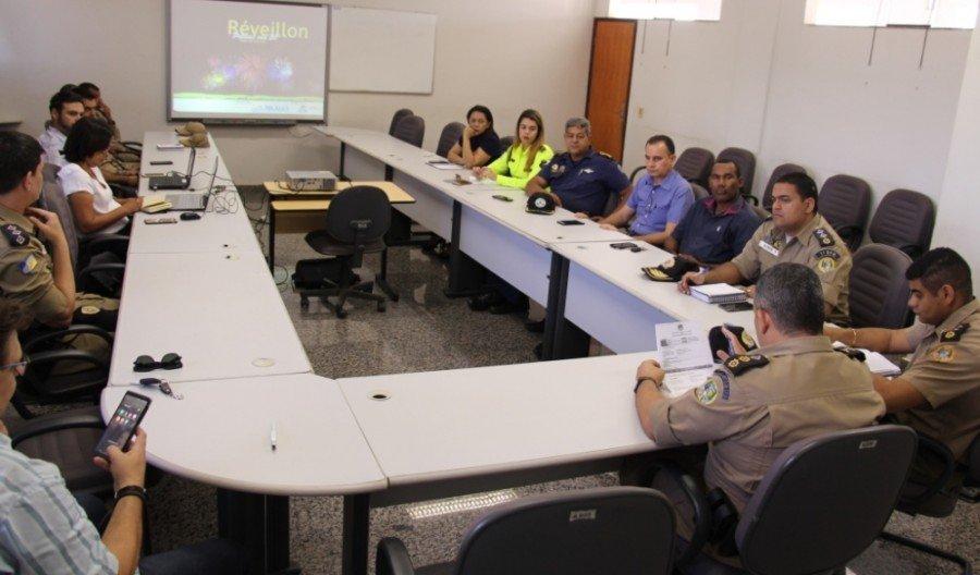 Reunião técnica dos órgãos de segurança pública que ocorreu no último dia, 19