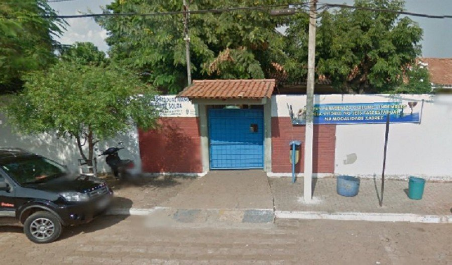 Colégio Estadual Manoel Vicente de Souza, em Augustinópolis