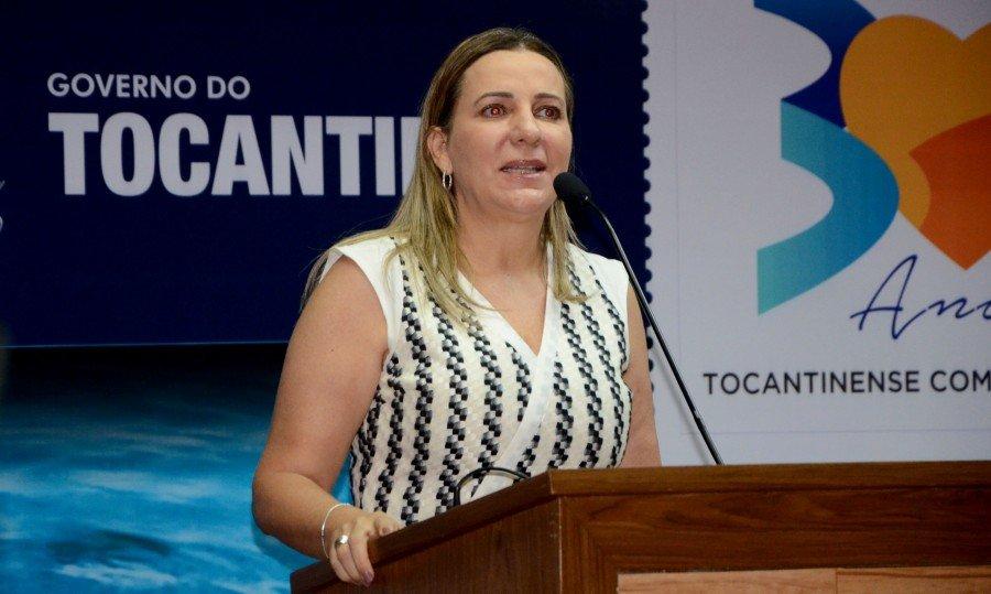 Dulce Miranda, falou do apoio que o governador tem recebido de diversos segmentos da sociedade (Foto: Tharson Lopes)