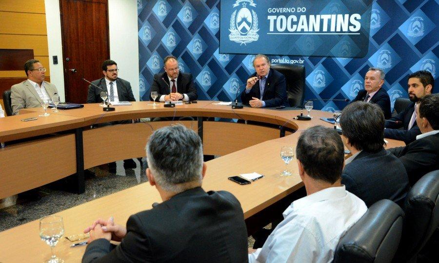 A empresários, governador Carlesse afirmou que reforma fomentará o desenvolvimento do Estado (Foto: Tharson Lopes)
