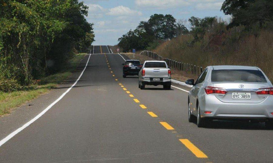 Trecho entregue é de 25,23 quilômetros da TO-126 e foi o terceiro de 18 trechos de rodovias previstos para serem recuperados na região do Bico do Papagaio