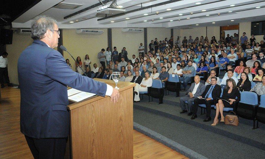 Marcelo Miranda destacou o caráter social do programa que, segundo ele, permite a inclusão social e o resgate da cidadania das pessoas menos favorecidas