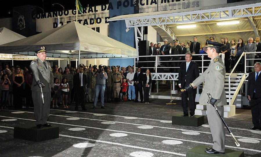 A solenidade de posse e passagem de comando foi realizada na noite desta segunda-feira, 6, no Quartel do Comando Geral (QCG) da Polícia Militar, em Palmas