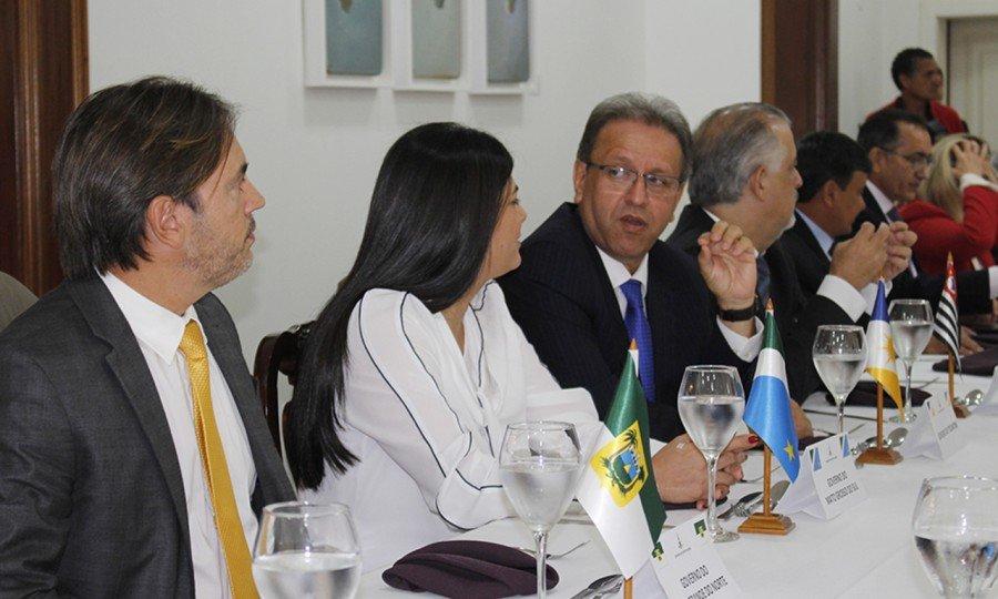 Marcelo Miranda está em Brasília para tratar de projetos de recuperação econômica