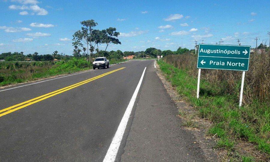 As obras são resultados de convênio entre o Governo do Estado do Tocantins e o Banco Mundial