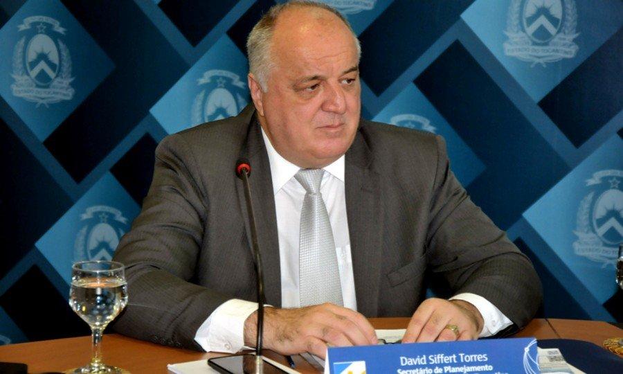 Secretário da Seplan, David Torres, fala sobre aprovação da LOA (Foto: Frederick Borges)