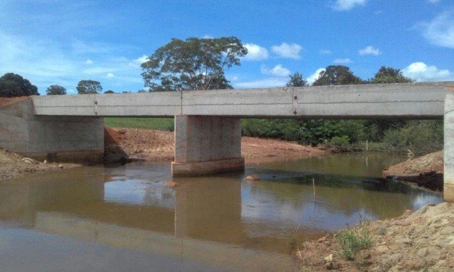 Governo libera tráfego em nova ponte sobre o Córrego Água Franca em Gurupi