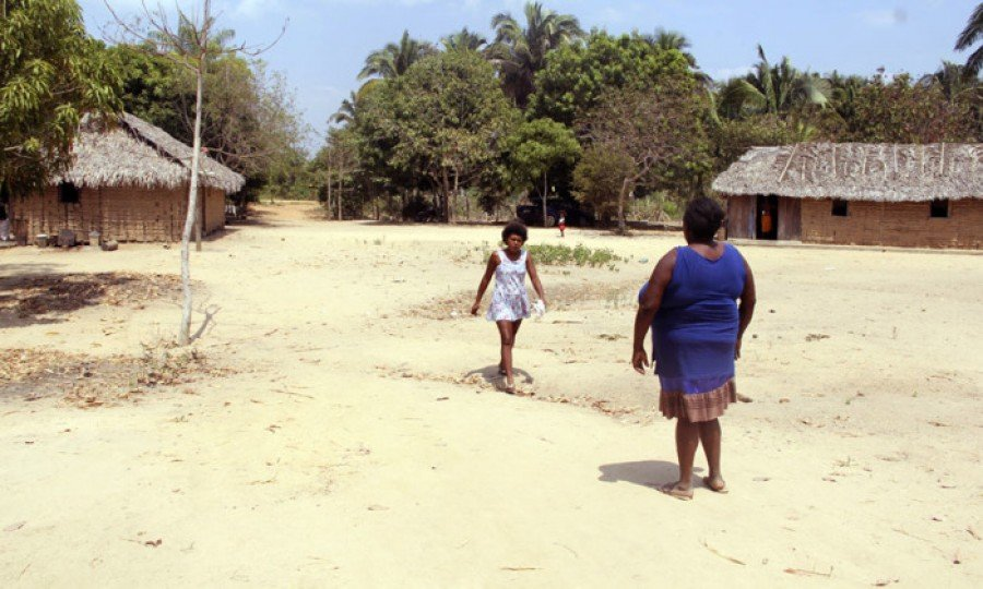 Comunidade Quilombola do Carrapiché, próximo à Esperantina