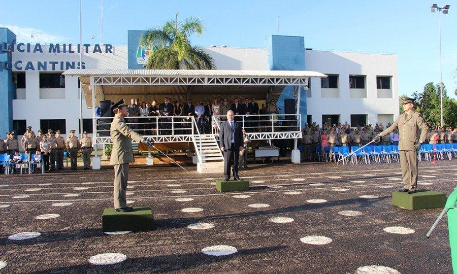O governador destacou a confiança na corporação, agradeceu ao comandante substituído e deu boas vindas ao novo comandante