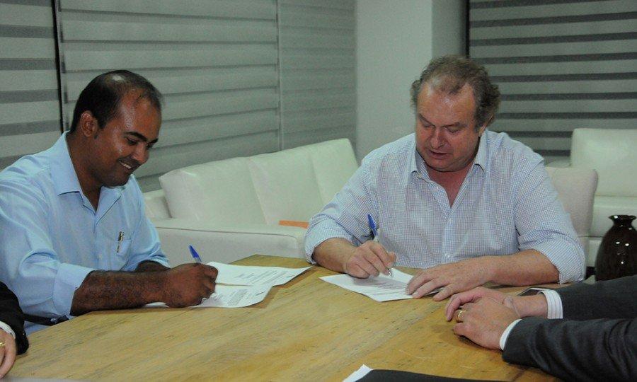 Virgílio da Silva Azevedo, presidente da AGETO (Foto: Lia Mara)