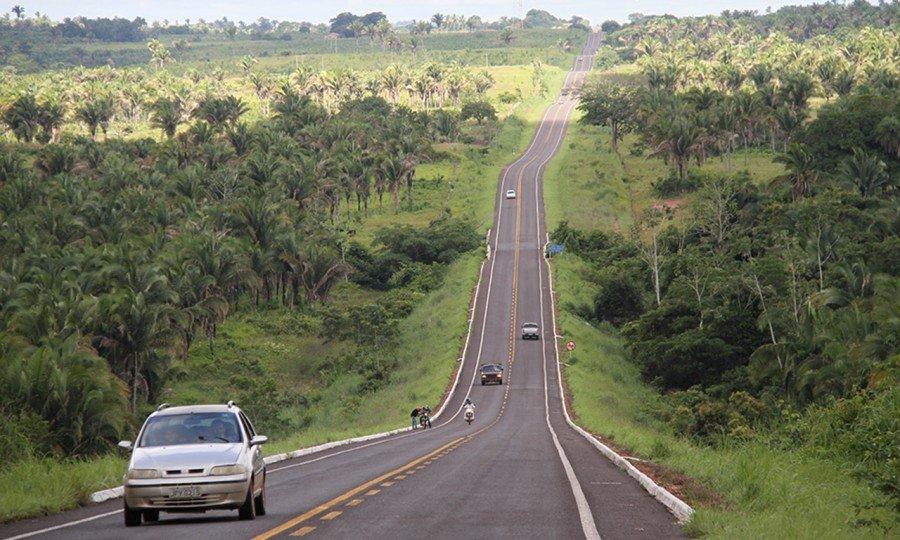 O Estado está reconstruindo rodovias do Bico do Papagaio, e as vias também estão recebendo melhorias no sistema de drenagem e na sinalização (Foto Ademir dos Anjos)