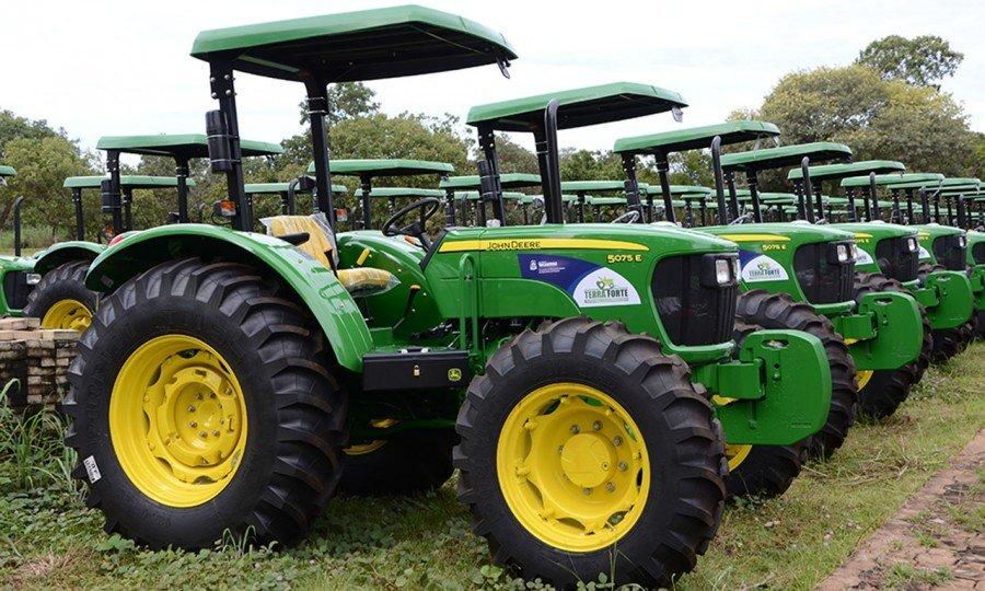 15 municípios do Bico do Papagaio foram contemplados na aquisição de máquinas e equipamentos agrícolas para o programa Terra Forte