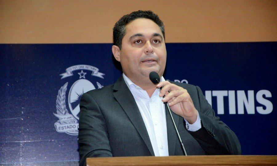 Presidente da ATM e prefeito do município de Pedro Afonso, Jairo Mariano (Foto: Ademir dos Anjos)