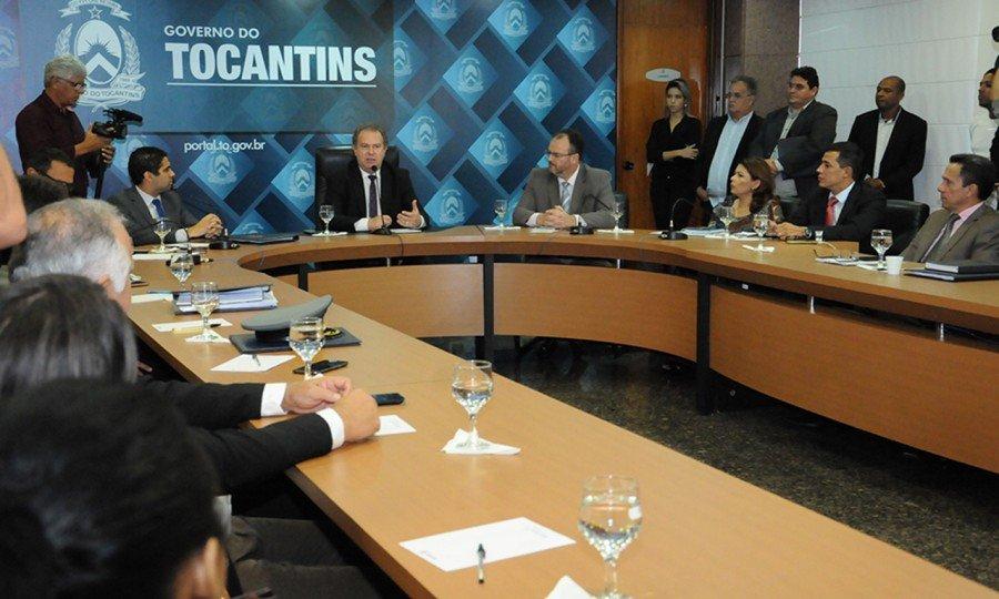 Mauro Carlesse reassume Governo e afirma que vai priorizar saúde e segurança pública (Foto: Lia Mara)