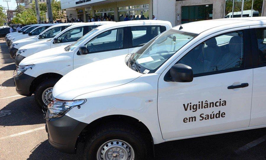 Resultado de imagem para Ministério da Saúde entrega mil veículos para combate à dengue em todo o País