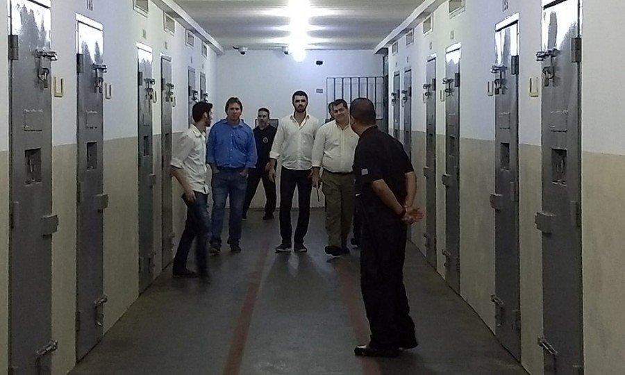 Objetivo foi conhecer a rotina das unidades prisionais com o intuito de manter parcerias em projetos, inclusive de ressocialização