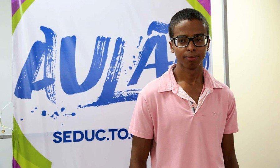 Hiago participou de todos os aulões (Foto: Nilson Chaves)