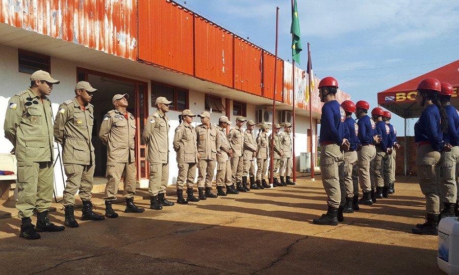 Para participar do curso o bombeiro militar passou por uma seleção interna do CBMTO