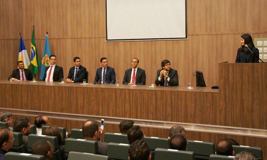 Na ocasião, Rolf Costa levou os cumprimentos de boas vindas do Governador Mauro Carlesse
