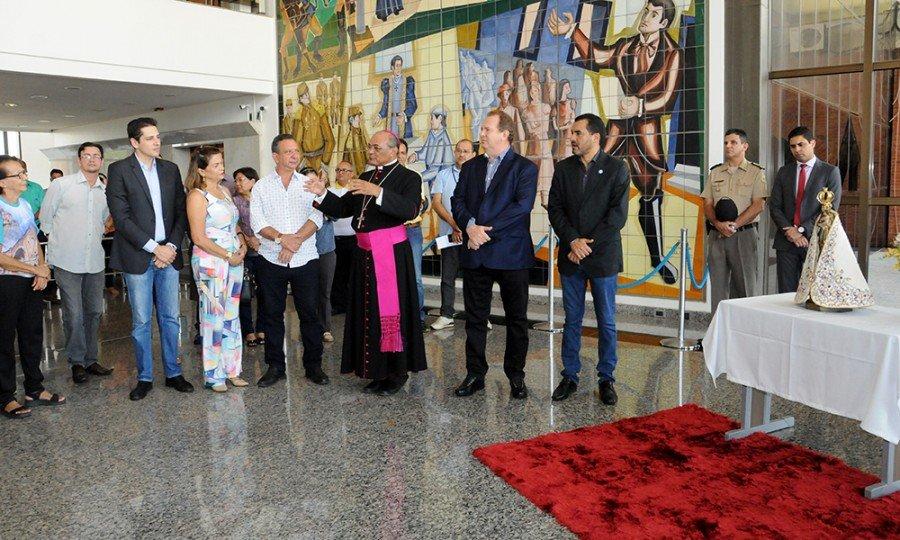 Dom Pedro Alves Guimarães, arcebispo de Palmas, agradeceu ao Governo do Estado pelo apoio para realização da programação do Cirio de Nazaré em Palmas