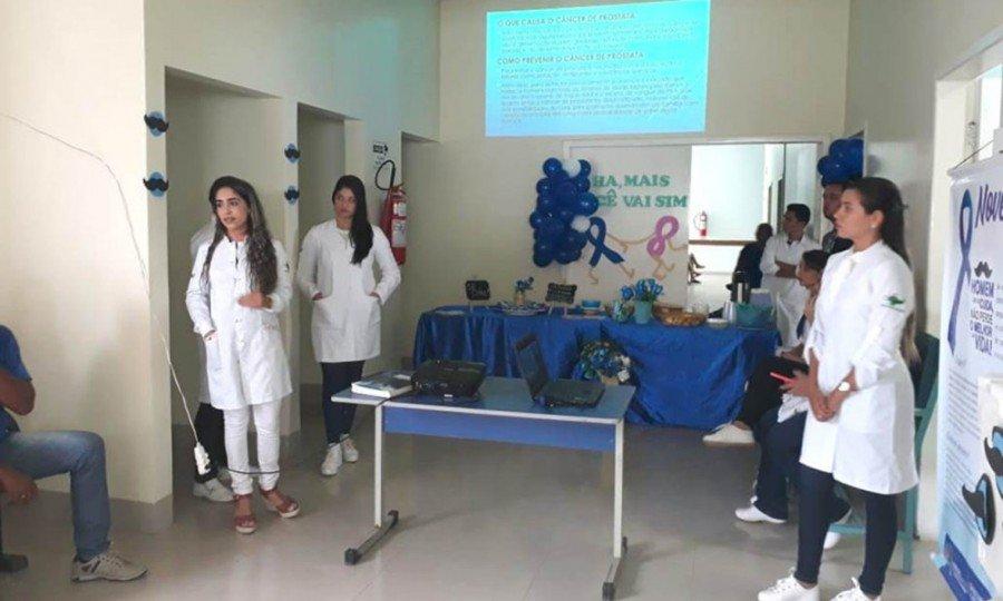 """Equipe de humanização abordou o tema """"Novembro Azul valorizando a saúde do homem"""""""