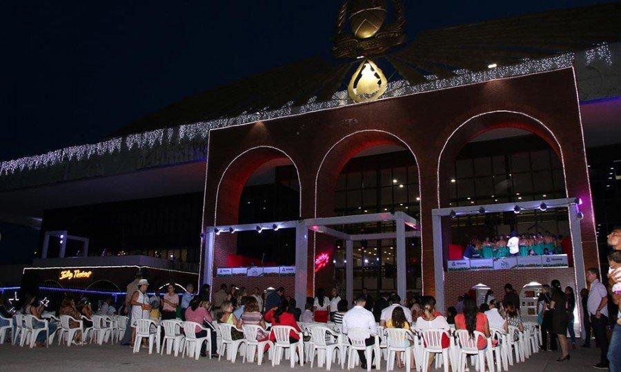 Cantata Encanto de Natal começa no dia 11, terça-feira, na ala Norte do Palácio, e segue até sexta-feira, 14 (Foto: Marcio Vieira)