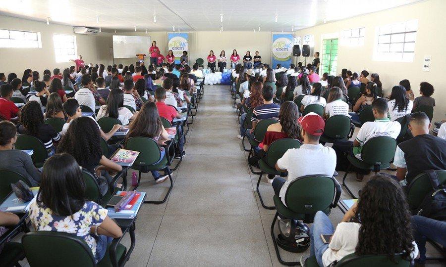 Programa #ToNoEnem beneficiou cerca de 20 mil concluintes do ensino médio na rede estadual (Foto Marcio Vieira)
