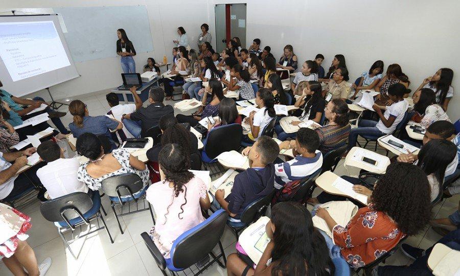Estado garantiu participação dos estudantes na V Conferência Nacional Infantojuvenil pelo Meio Ambiente (Foto: Elias Oliveira)