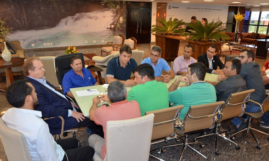 A pauta da reunião foi a regularização fundiária de áreas urbanas de Palmas