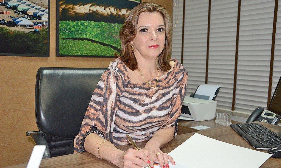 Denise Rocha Domingues assume a Agência de Fomento (Foto: Antônio Gonçalves)