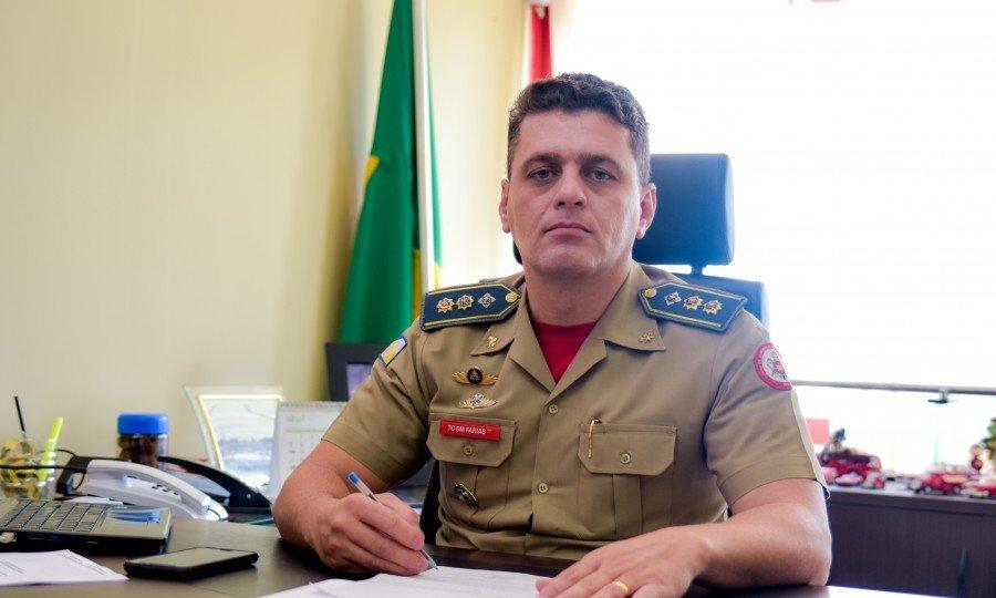 Coronel do Corpo de Bombeiros Militar do Estado, Carlos Eduardo de Souza Farias