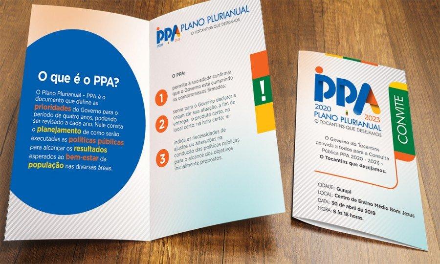 Governo realizará no Bico do Papagaio consulta pública para formatar PPA 2020-2023