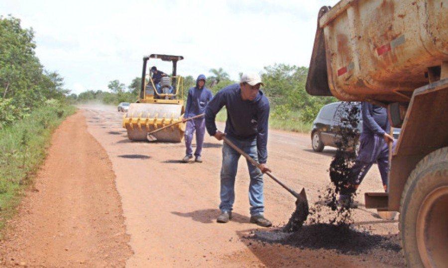 Força-tarefa contará com serviços de tapa-buracos, roçagem e terraplanagem (Foto: Thiago Sá)