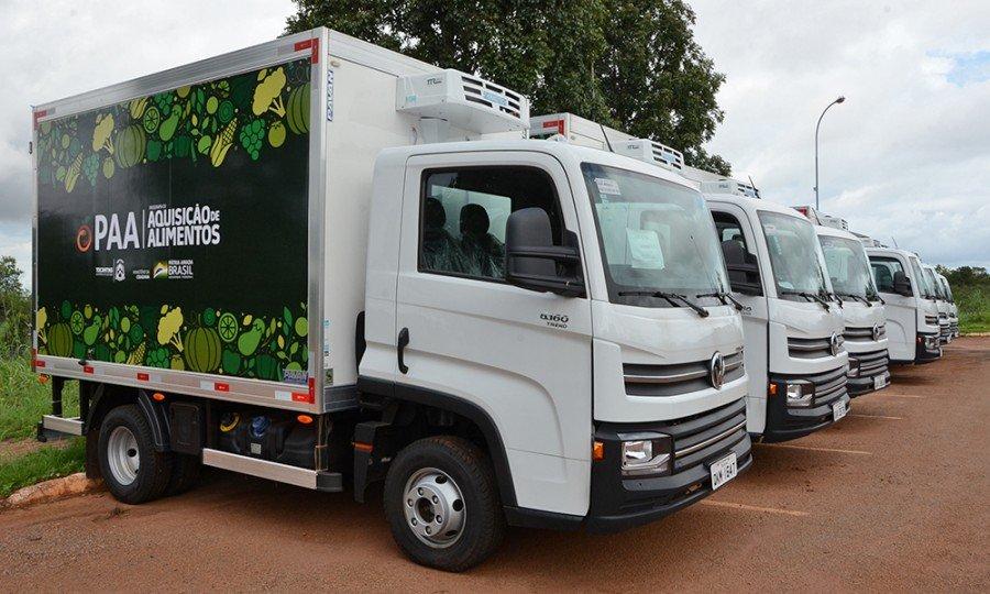 Durante a Agrotins, governador Carlesse entregará caminhões e kits que vão beneficiar a agricultura familiar nos municípios