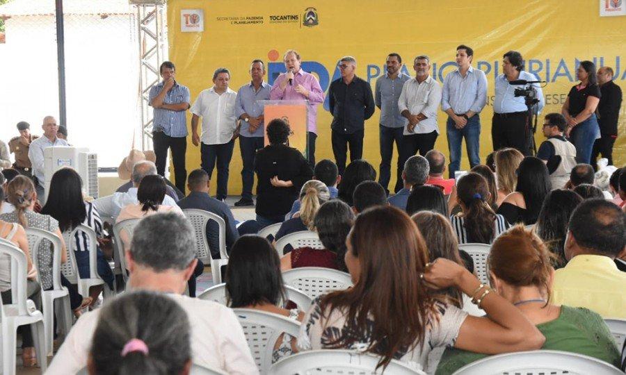 Em Araguatins, Governador Carlesse afirmou que proximidade com o povo permite realizar um governo de decisões legítimas