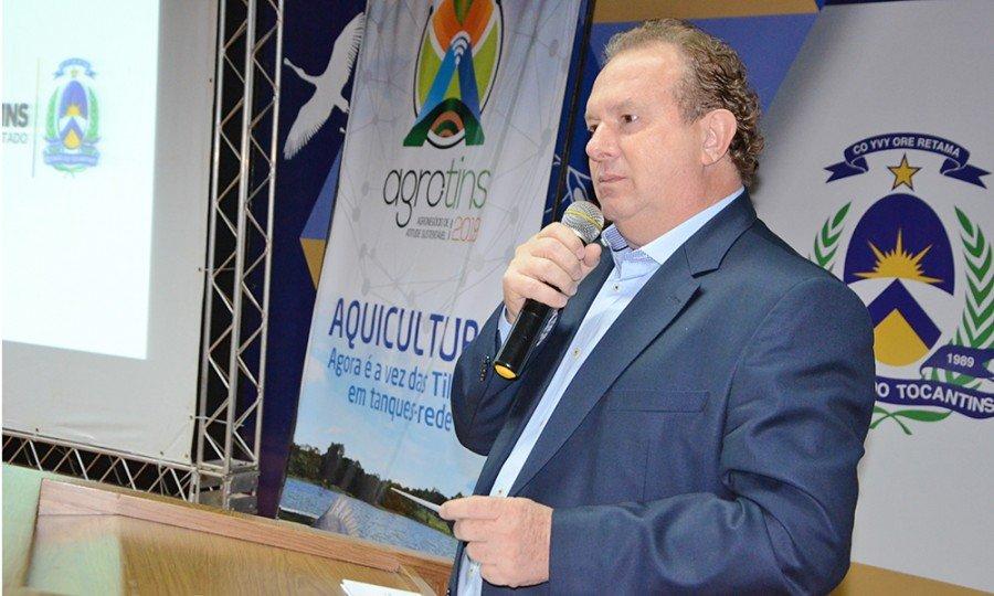 Governador Mauro Carlesse afirma que a missão é melhorar a vida do produtor rural em todas as áreas (Foto: Antonio Gonçalves)