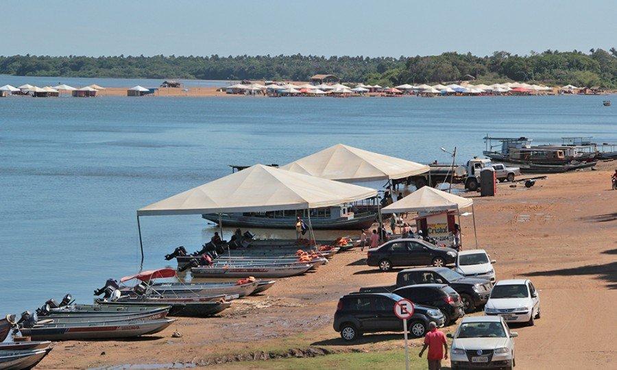 Licenciamento ambiental on-line para praias temporárias do Bico do Papagaio já está disponível no site do Naturatins (Foto: Washington Luiz)
