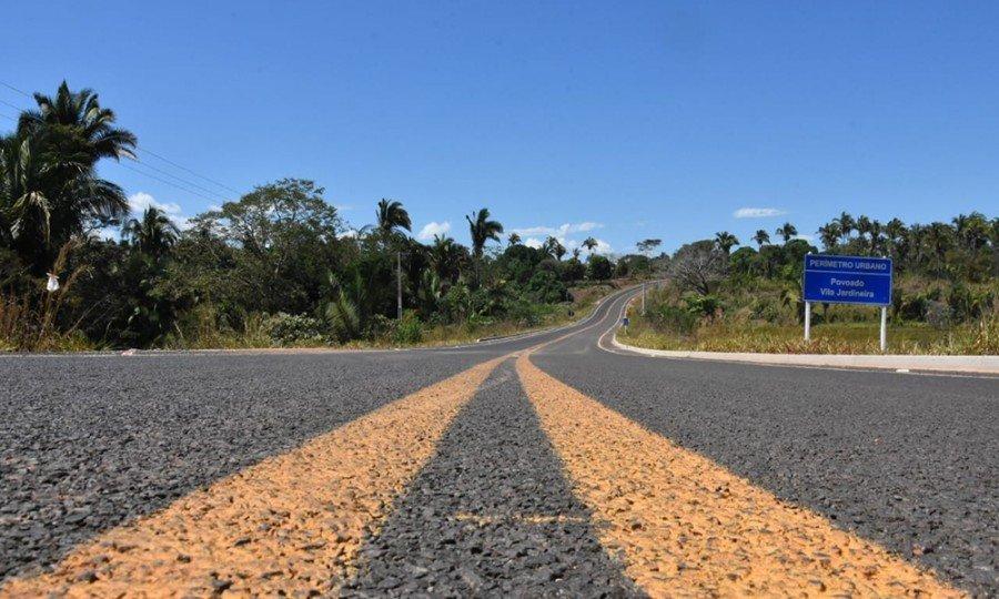 Trecho é entre a cidade de Tocantinópolis e o povoado Ribeirão Grande, e contou com um investimento de R$ 6.731.631,47