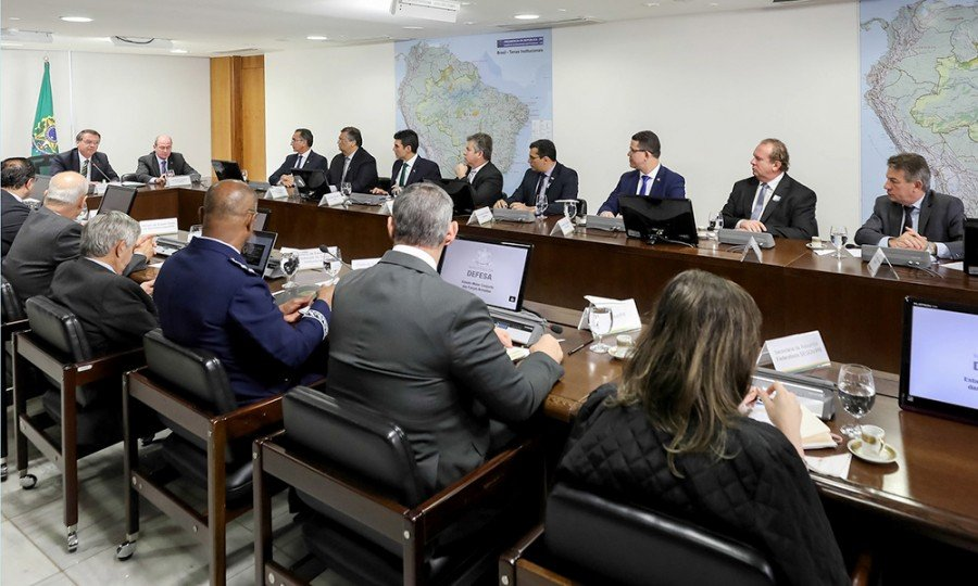 Presidente se interessou pelo projeto da rodovia TO-500 e solicitou ao governador Carlesse os detalhes e vantagens da realização obra