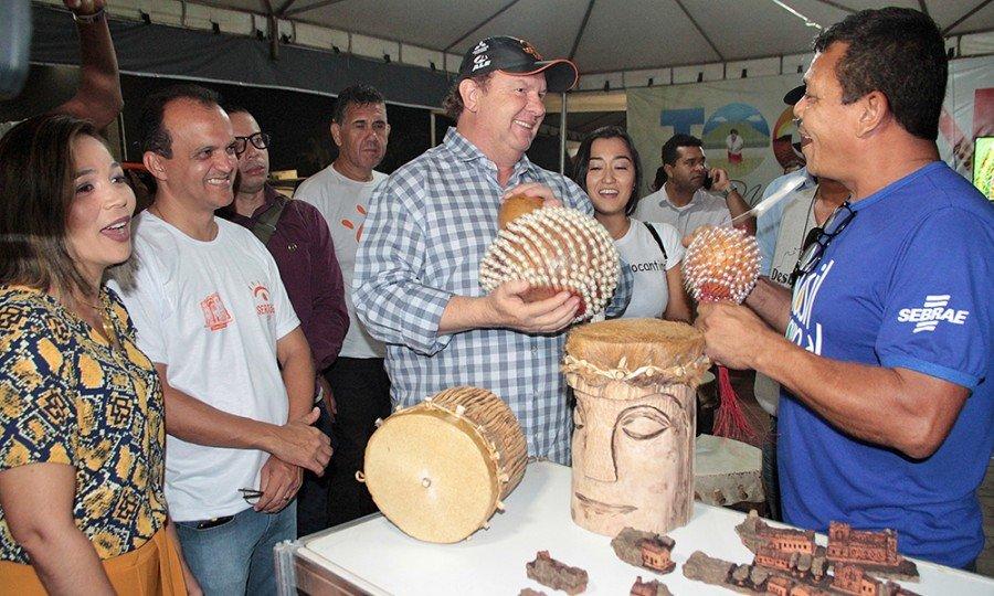 Adetuc disponibilizará um estande nos municípios de Porto Nacional e São Félix do Tocantins, onde serão divulgados os roteiros turísticos do Tocantins, exposição de artesanato