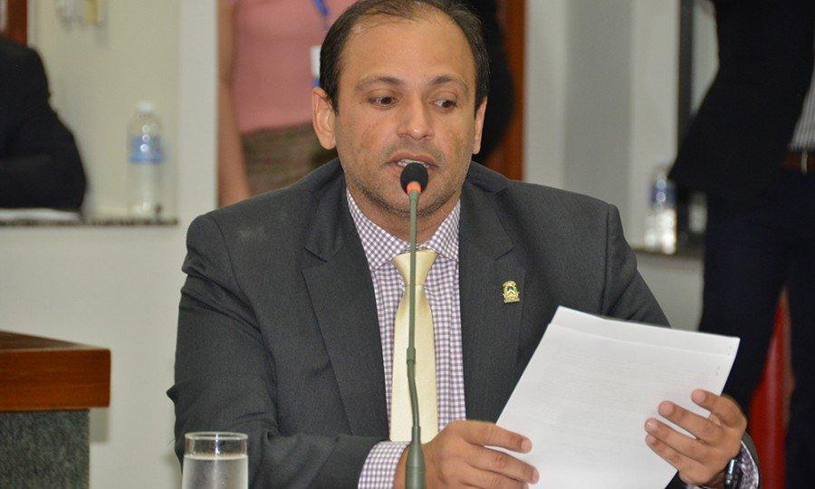 Gleydson Nato vai substituir a deputada estadual Valderez Castelo Branco que estava na função desde fevereiro deste ano (Foto: AL/TO)