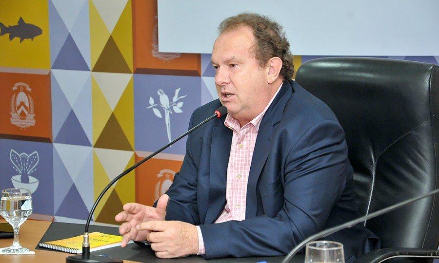 Medida foi anunciada nesta quarta-feira, 04, durante reunião com os secretários de estado (Foto: Washington Luiz)