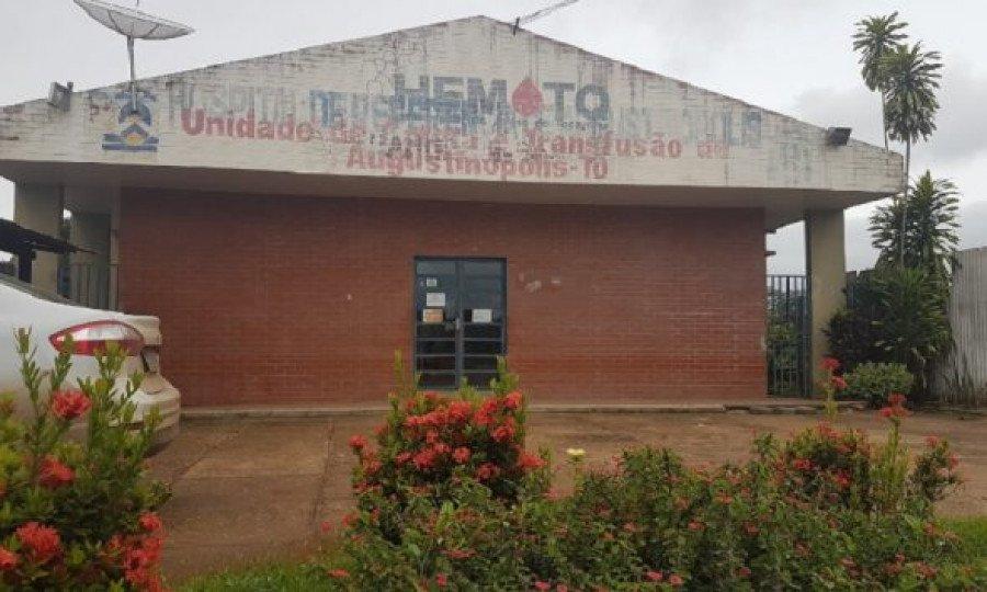Unidade de coleta e transfusão de Augustinópolis (Foto: Divulgação)